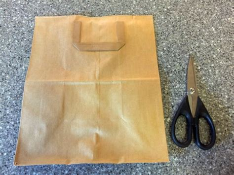How Do You Make A Paper Bag Book Cover - how to make a paper bag book cover