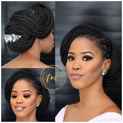 Wedding Hairstyles With Box Braids by Box Braids For Wedding Get Inspired By This Flattering