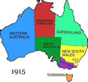 Used Australia Territorial Evolution Of Australia