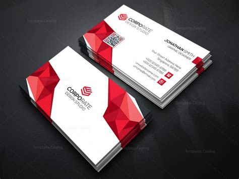 Diamond Creative Business Card Template 000365 Template Catalog Business Card Template