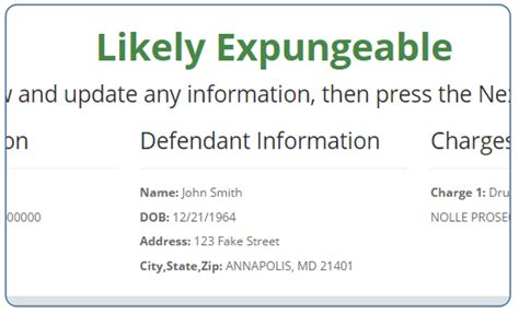 How To Expunge A Criminal Record In Maryland Maryland Expungement