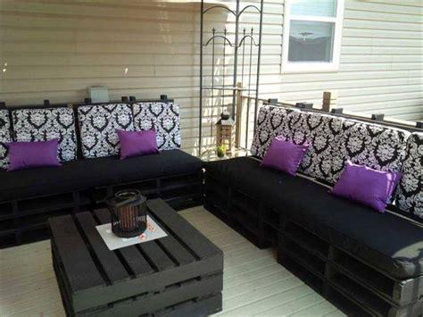 diy patio furniture cushions top 104 unique diy pallet sofa ideas