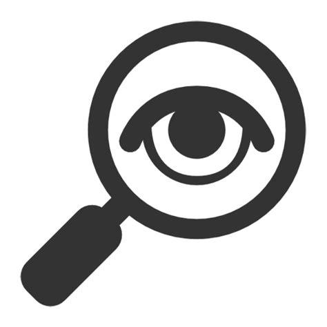 Investigator Find Investigation Identification Icons Free Icons