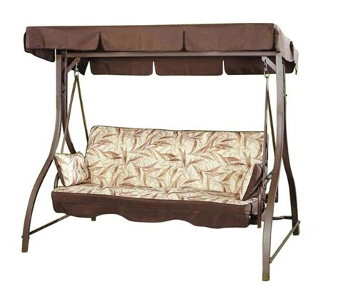 porch swing canopy replacement parts garden oasisperson glider swing lewis furniture