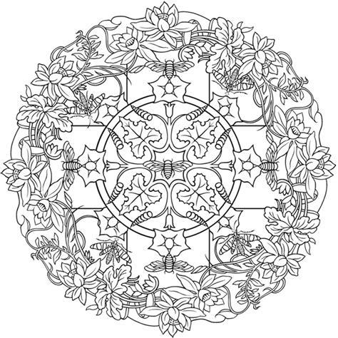 nature mandalas coloring book design originals nature 1