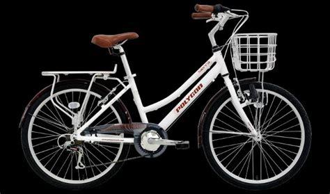 Sepeda Polygon Lite 24 jual polygon lite white di lapak toko sepeda vetran tokosepedavetran