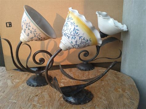 arredamento in ferro battuto ladari in ferro battuto