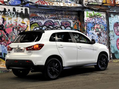 black mitsubishi asx black wheels wheels and black on pinterest