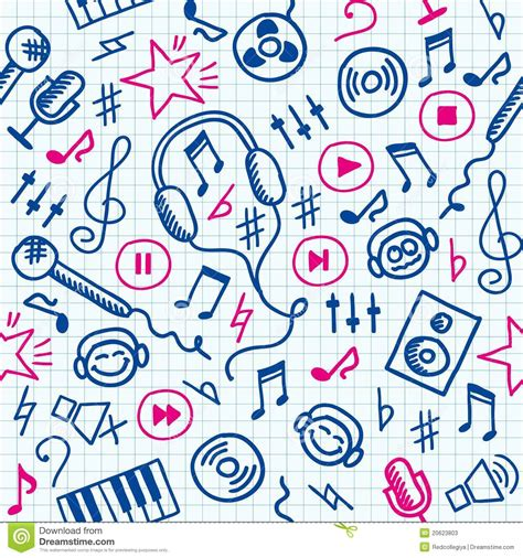 pattern song music pattern stock vector image of backdrop lesson