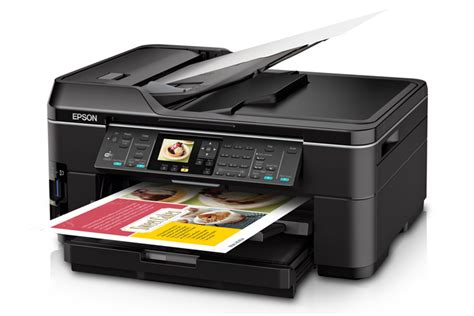 Printer Epson Fotocopy F4 epson workforce wf 7510 all in one printer inkjet printers for work epson us