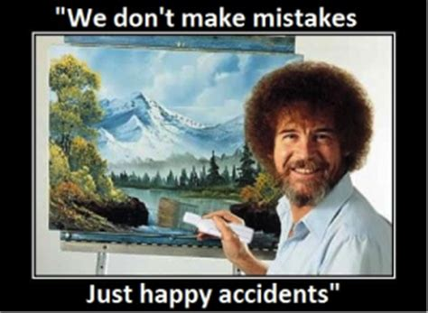 bob ross painting mistakes what painter bob ross can teach us about blogging