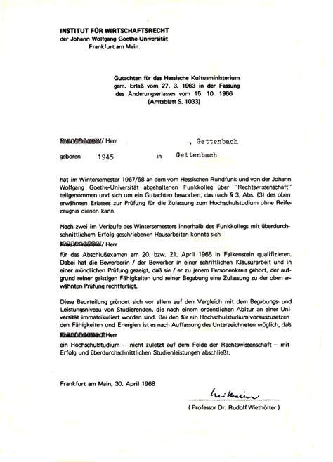 referenzschreiben gericht file 1968 wissenschaftliches gutachten prof wieth 246 lter f 252 r die zulassung zur begabtenpr 252 fung