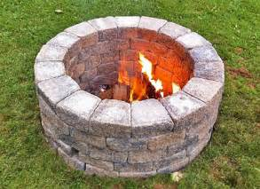 Build Your Own Firepit Build Your Own Outdoor Pit Planitdiy