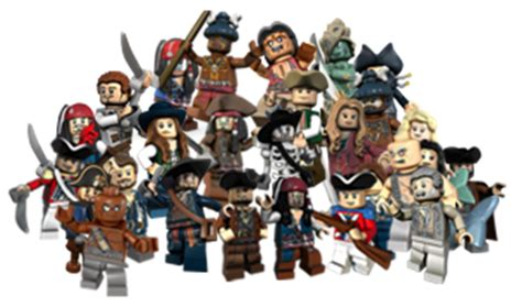 boatswain vs quartermaster category minifigures lego pirates of the caribbean the
