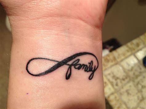 infinity family tattoo infinity family tattoo tattoos pinterest