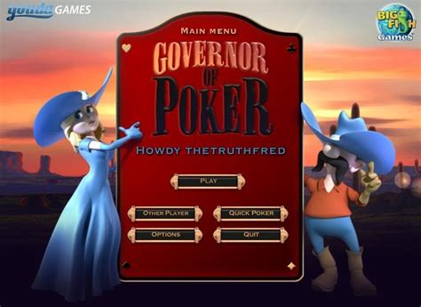 governor  poker full