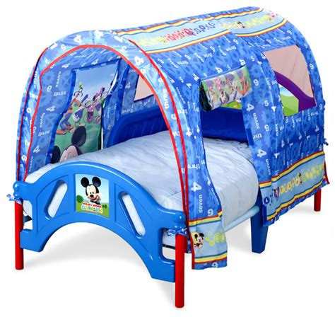mickey mouse twin bed safe low profile mickey mouse canopy toddler children bed