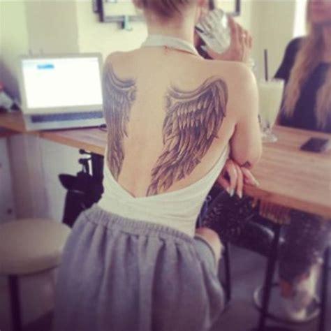 angel wings tattoo model 5 cute tattoo ideas for girls inkdoenright com