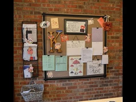 kitchen bulletin board ideas kitchen message board ideas youtube