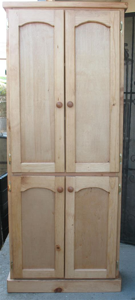 unfinished wood pantry cabinet unfinished tall cabinets bar cabinet