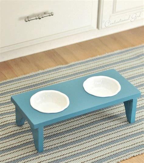 food bowl stand 20 useful diy pet food stations pretty designs