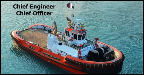 tugboat engineer salary chief engineer and chief officer on tug