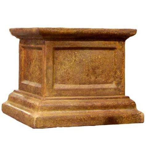 Sculpture Pedestal Base Pedestals Grande Riser Stand Pedestal Statue Base 21 In