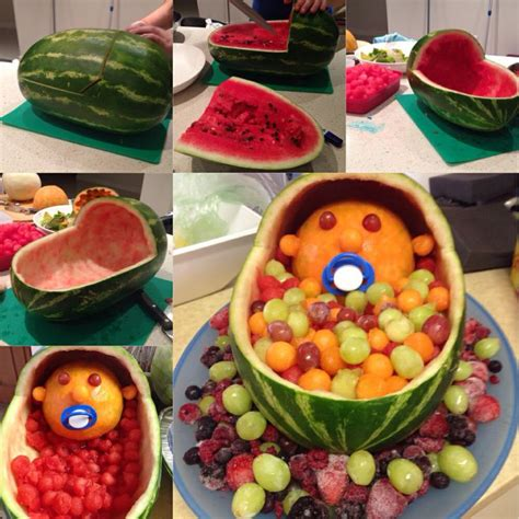 fruit baby baby shower decoration baby shower ideas