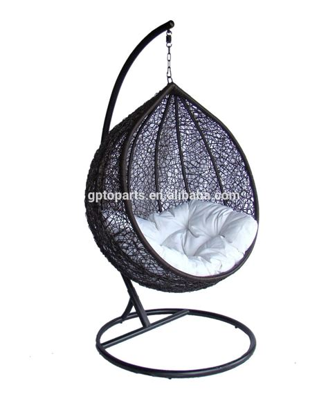 cocoon swing seat lexmod cocoon wicker rattan outdoor wicker patio swing