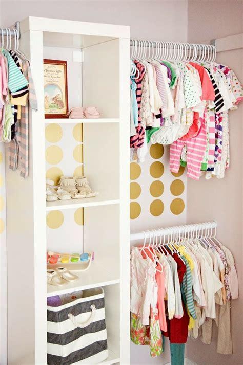Small Baby Closet by Kid Closet With Expedit Shelf Closet