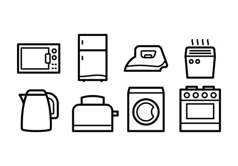 Bread Toaster Deals Free Home Appliances Icons Download Free Vector Art