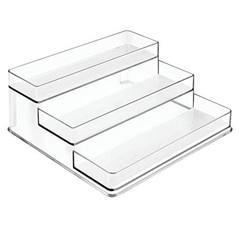 Clear Spice Rack Interdesign Linus Spice Rack Organizer For Kitchen Pantry