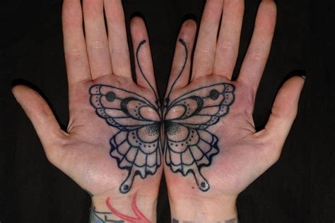 tattoo on palm 60 best butterfly tattoos meanings ideas and designs 2016