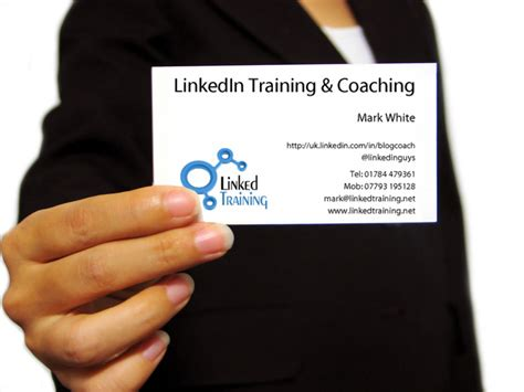 Linkedin Business Card business cards linkedin linkedin courses and