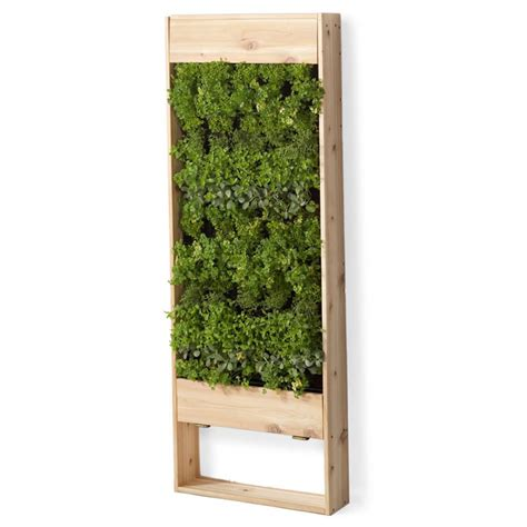 diy garden box copper vertical garden wall planter