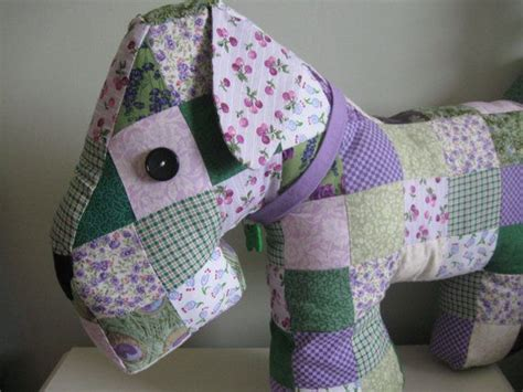 Patchwork Puppy - large patchwork cushion pillow patchwork dogs and etsy