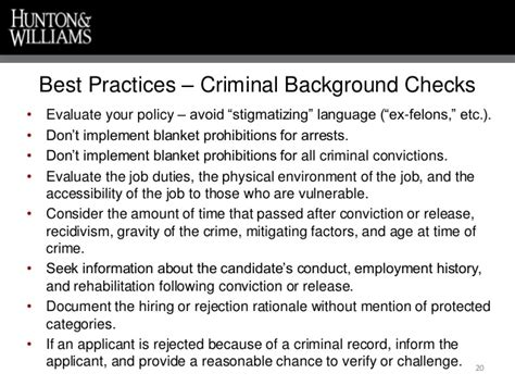 Places That Will Hire With Criminal Record Criminal Background Checks In The Hiring Process The Escalating Risk