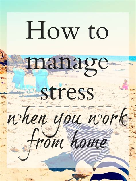 How To Manage A Small Home Based Business How To Manage Stress When You Work From Home Living Mi