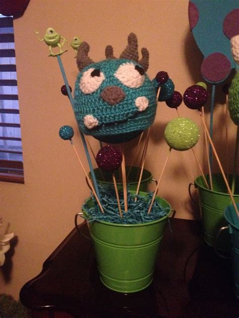 monsters inc baby shower centerpieces monsters inc baby shower centerpieces pari decorations