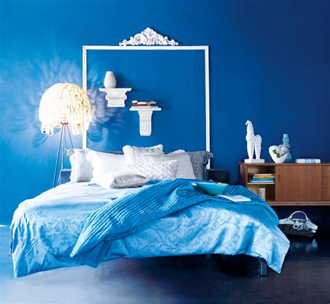 Blue Bedroom Design Blue And White Bedroom Idea Panda S House