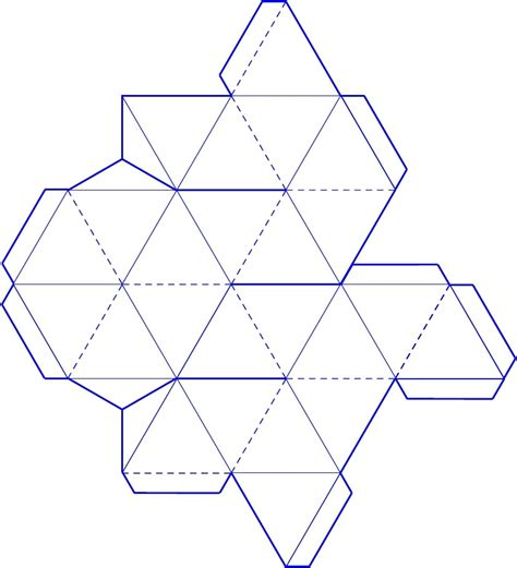 3d Paper Folding Templates - sacred geometry esoteric