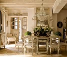 French Style Dining Room by How To Decorate In French Country Style