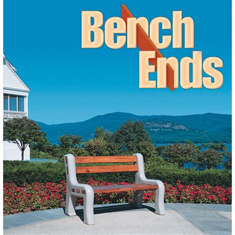 bench ends polyethylene bench ends pair model be gra benches