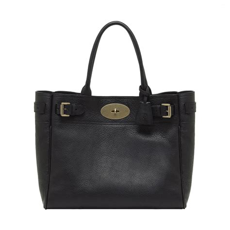 Artist Julie Verhoeven For Designer Mulberry Shopper Tote by Mulberry Bayswater Tote In Black Chocolate Lyst