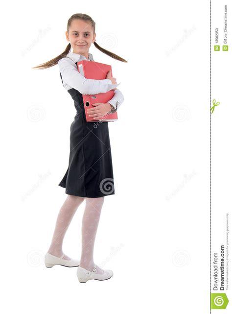 schoolgirl princess backgrounds cute teen schoolgirl side view stock photos image