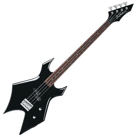 Gitar Listrik Bc Rich Warlock Bridge disc bc rich warlock bass black at gear4music