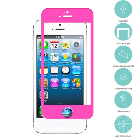 Tempered Glass For Apple Iphone 5 for apple iphone 5 5s 5c tempered glass screen protector