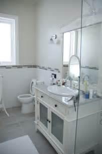 Gray And White Bathroom Tjihome