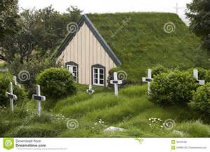 Green Small House Plans iceland southeast area hof cemetery and church with