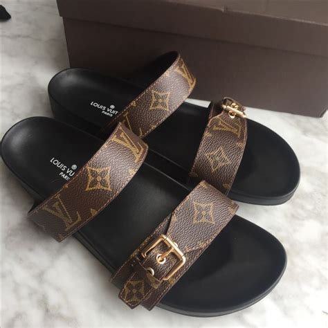 louis vuitton slippers mens louis vuitton lv slippers monogram slides flats